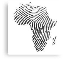 Africa DNA Metal Print