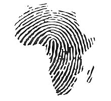 Africa DNA Photographic Print