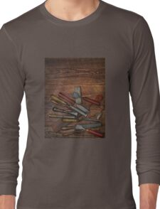 vintage chisels Long Sleeve T-Shirt
