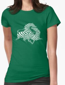 Zebras Womens Fitted T-Shirt