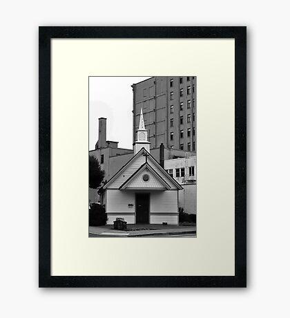The Little Chapel Framed Print