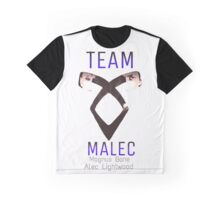 Team Malec Alec Magnus Graphic T-Shirt