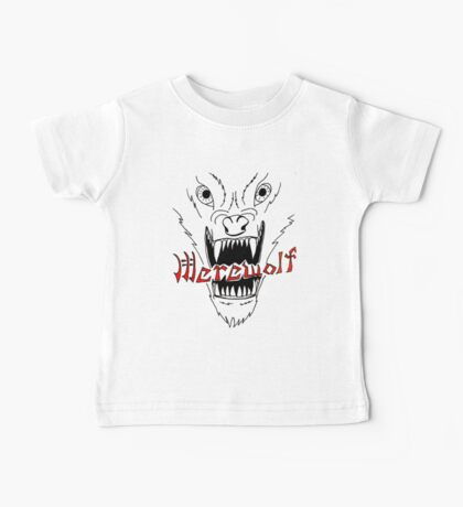 Face of the Werewolf Baby Tee