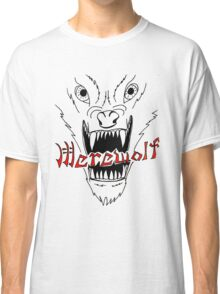 Face of the Werewolf Classic T-Shirt