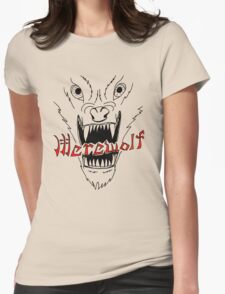 Face of the Werewolf Womens Fitted T-Shirt