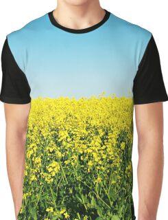 Yellow Field. Graphic T-Shirt