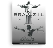 2014 Brazil World Cup Canvas Print