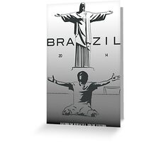 2014 Brazil World Cup Greeting Card