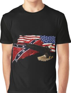 Heritage, Not Hatred Patriotic Eagle Graphic T-Shirt