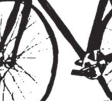 Bike Stache Sticker