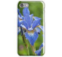 Into a blue iris dream... iPhone Case/Skin