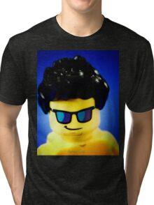 Aaron's Lego Photo shoot! Tri-blend T-Shirt