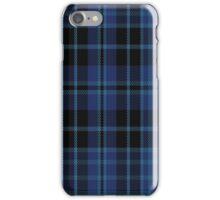01005 Clark (Clerke-Clergy-Priest) Tartan  iPhone Case/Skin
