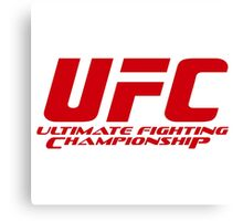 ULTIMATE FIGHTING CHAMPIONSHIP Canvas Print