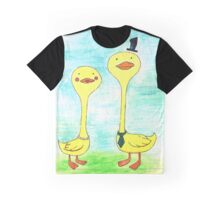 Mr. and Mrs. Duck Graphic T-Shirt