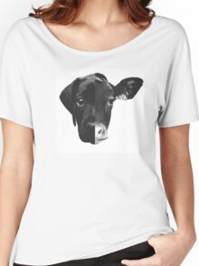 Animal Equality - (Black & White Version) Women's Relaxed Fit T-Shirt