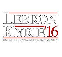 Lebron & Kyrie Photographic Print