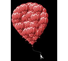 99 Red Balloons Photographic Print