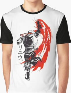 Street Fighter - Ryu  Graphic T-Shirt