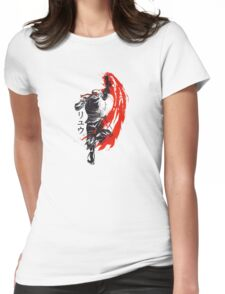 Street Fighter - Ryu  Womens Fitted T-Shirt