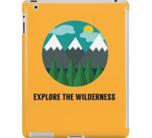 Explore the Wilderness iPad Case/Skin