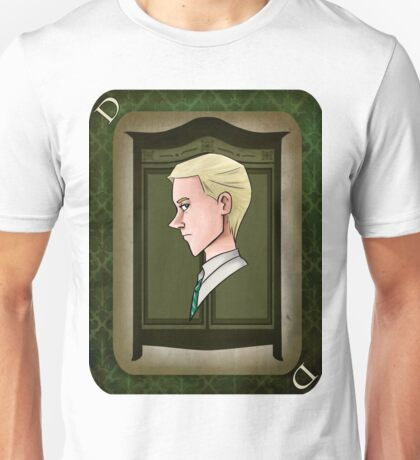 Draco Malfoy Playing Card Unisex T-Shirt