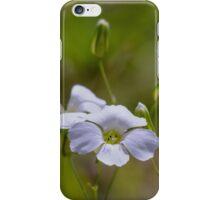 tinny white flower iPhone Case/Skin