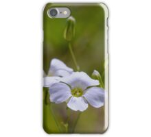 tinny white flower iPhone Case/Skin