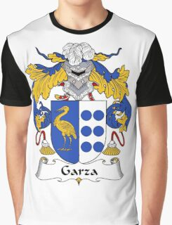Garza Coat of Arms/Family Crest Graphic T-Shirt