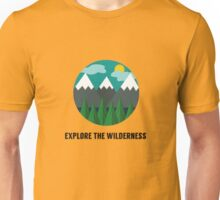 Explore the Wilderness Unisex T-Shirt