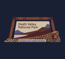 Death Valley National Park Sign, CA & NV, USA Kids Tee