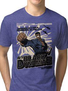 Black Dynamite! Dy-Na-Mite!! Tri-blend T-Shirt