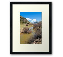 Mineral Creek 1  Framed Print