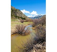 Mineral Creek 1  Photographic Print