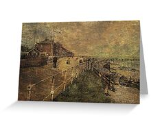 A Stroll Along the Seafront Greeting Card
