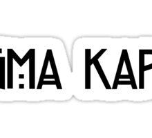 sigma kappa horror story Sticker