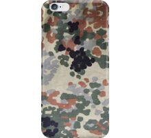 flecktarn iPhone Case/Skin