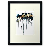 Bee With Drills Framed Print