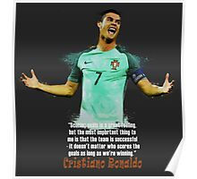 UEFA EURO 2016 RONALDO Poster