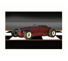 1927 Ford 'Track T' Roadster 2 Art Print
