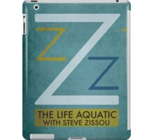 The Life Aquatic With Steve Zissou - Wes Anderson  iPad Case/Skin