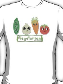 Vegetarian and proud! T-Shirt