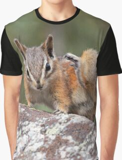 Itchy Chipmunk Graphic T-Shirt