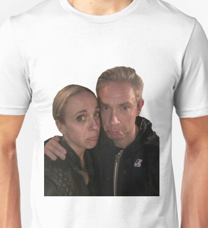 Martin Freeman and Amanda Abbington Unisex T-Shirt