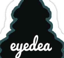 Eyedea is Pacific NorthWest steezy scented freshness Sticker