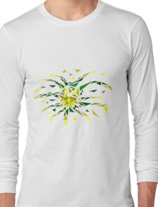 Low Poly Firework Long Sleeve T-Shirt