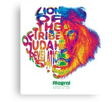 Lion of the tribe of Judah - Revelation 5.5 - Color Canvas Print