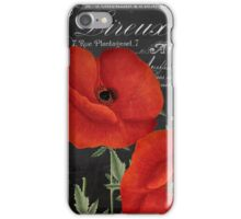 Fleur du Jour Poppy iPhone Case/Skin
