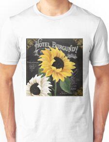 Fleur du Jour Sunflowers Unisex T-Shirt