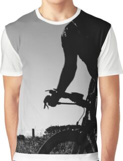 Silhouette cyclist  Graphic T-Shirt
